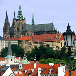 Пазл онлайн: Пражский Град