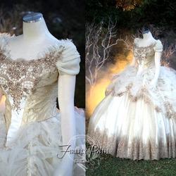 Пазл онлайн: Красавица и Чудовище: свадебное платье