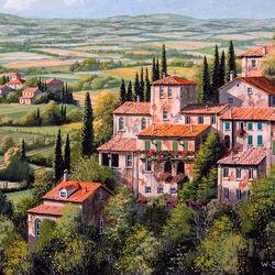 Пазл онлайн: Итальянский пейзаж