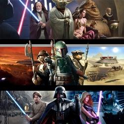 Пазл онлайн: Звездные войны