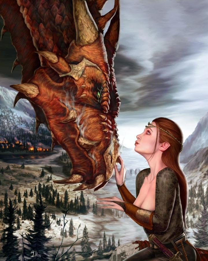 елена звездная алиссин схватка с драконом скачать