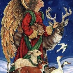 Пазл онлайн: Ночной ангел