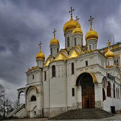 Пазл онлайн: Благовещенский собор московского Кремля