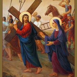 Пазл онлайн: Несение Креста