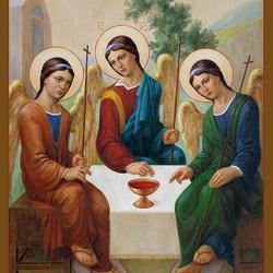 Пазл онлайн: Святая троица