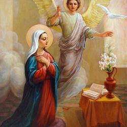 Пазл онлайн: Благовещение Пресвятой Богородицы