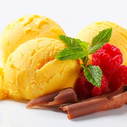 Пазл онлайн: Фруктовый десерт