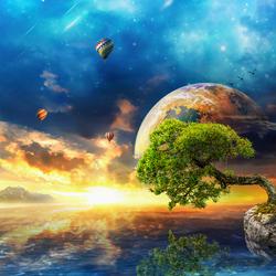 Пазл онлайн: Мой маленький рай