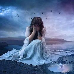 Пазл онлайн: Плач сердца