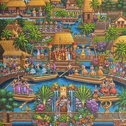 Пазл онлайн: Полинезия