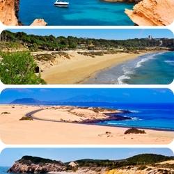 Пазл онлайн: Пляжи Испании