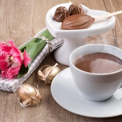Пазл онлайн: Чашка кофе