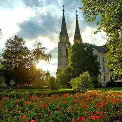 Пазл онлайн: Замок Хельбрунн. Австрия