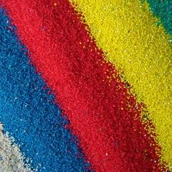 Пазл онлайн: Цветной песок