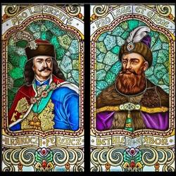 Пазл онлайн: Портреты трансильванских князей