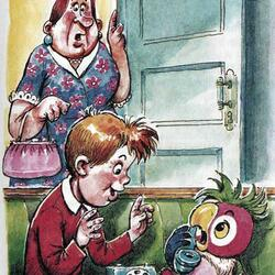 Пазл онлайн: Возвращение блудного попугая