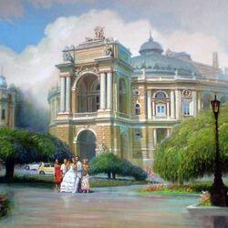Пазл онлайн: Одесский оперный театр