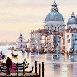 Пазл онлайн: Романтическая Венеция