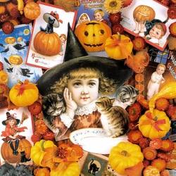 Пазл онлайн: На Хэллоуин
