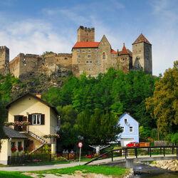 Пазл онлайн: Замок Хардегг. Австрия