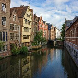Пазл онлайн: Гент. Бельгия