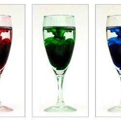 Пазл онлайн: Три цвета