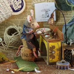 Пазл онлайн: Мышиные истории