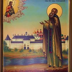 Пазл онлайн: Святой Преподобный Савва Сторожевский