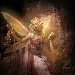 Пазл онлайн: Лесная фея