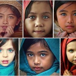 Пазл онлайн: Поразительные глаза
