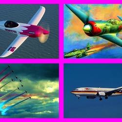 Пазл онлайн: Самолёты