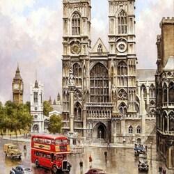 Пазл онлайн: Лондон