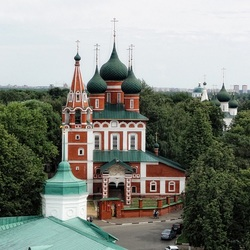 Пазл онлайн: Ярославль