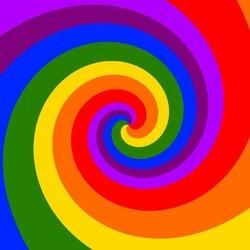 Пазл онлайн: Спираль