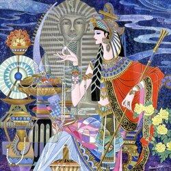 Пазл онлайн: Царица Египта