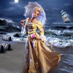 Пазл онлайн: У моря