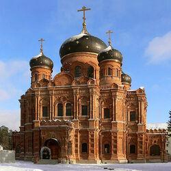 Пазл онлайн: Спасо-Преображенский Гуслицкий мужской монастырь