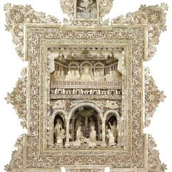 Пазл онлайн: Икона из перламутра. 19 век