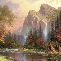 Пазл онлайн: Величественные горы/Mountains Declare His Glory