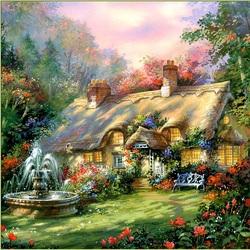 Пазл онлайн: Любимый дом