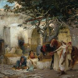 Пазл онлайн: Двор Алжира