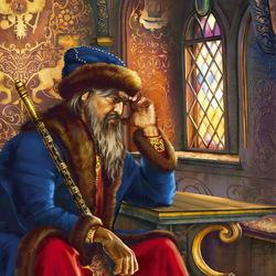 Пазл онлайн: Царь Иван Грозный