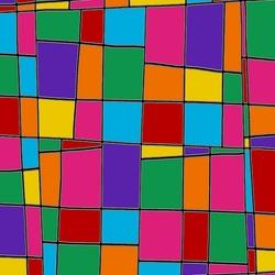 Пазл онлайн: Витражная мозайка