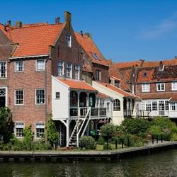 Пазл онлайн: Дом в Нидерландах