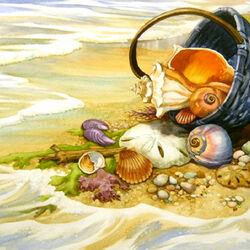 Пазл онлайн: Сувениры с моря