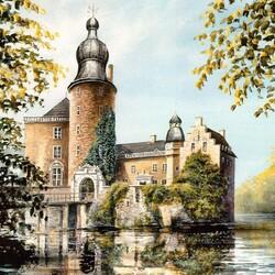 Пазл онлайн: Крепость Гемен, Германия