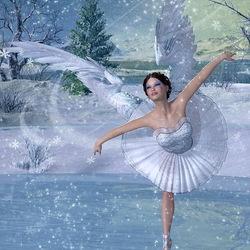 Пазл онлайн: Танец на льду