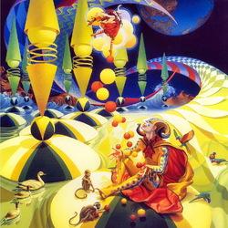 Пазл онлайн: Цирковая фантазия