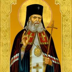 Пазл онлайн: Святой Лука архиепископ Крымский