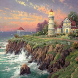 Пазл онлайн: Старый маяк